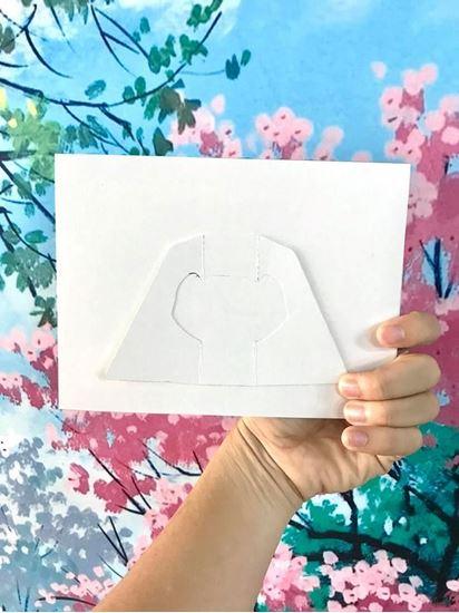 mẫu khung hình giấy