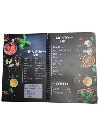 in menu cần thơ