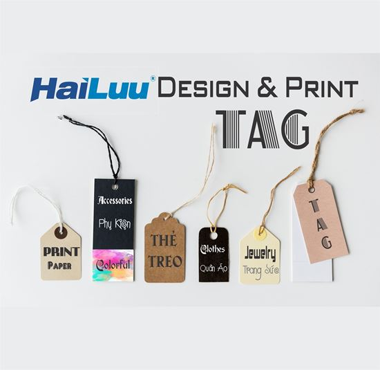 Picture of Tag quần áo - Tag Bông tai - Thẻ treo