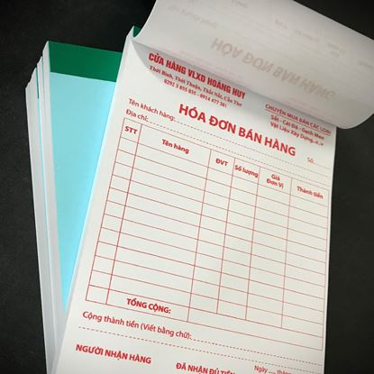 Picture of In Hóa đơn bán lẻ